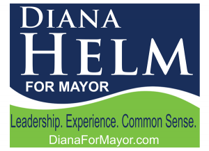 Diana Helm Yardsign