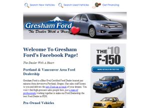 Gresham Ford Facebook
