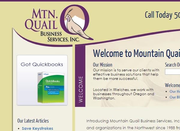 Mtn Quail