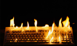 Burning Keyboard