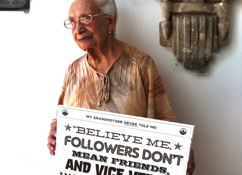 Social Media Grandma