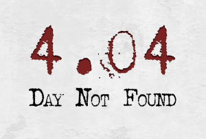 404 Day Not Found