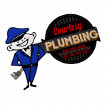 Courtesy Plumbing Logo