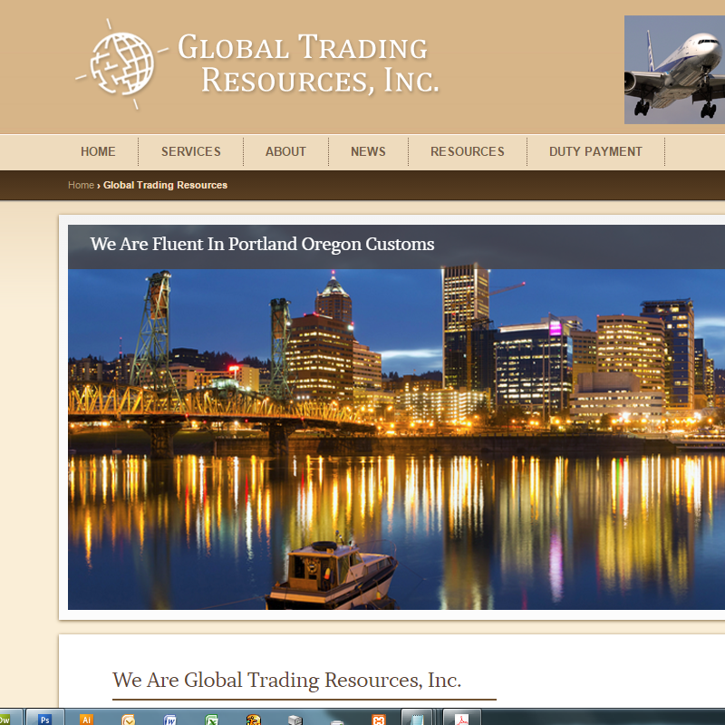 Global Trade Resources Header