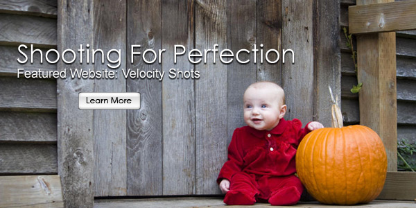 Shooting For Perfection. Featured Website Launch: Velocity Shots.